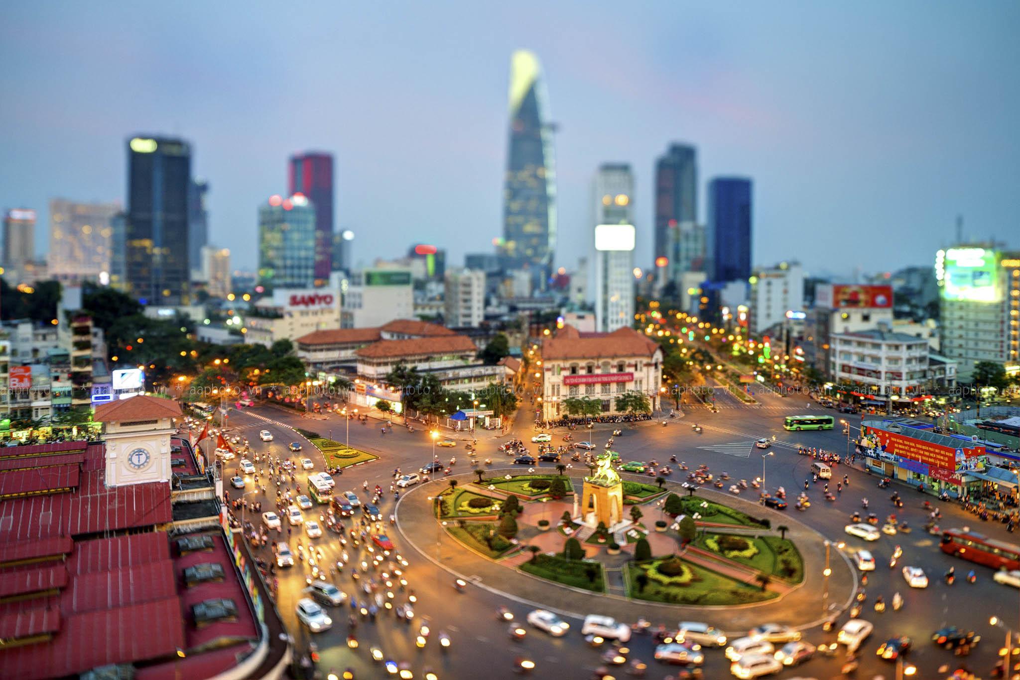 Sài Gòn - thành phố sầm uất bậc nhất miền Nam