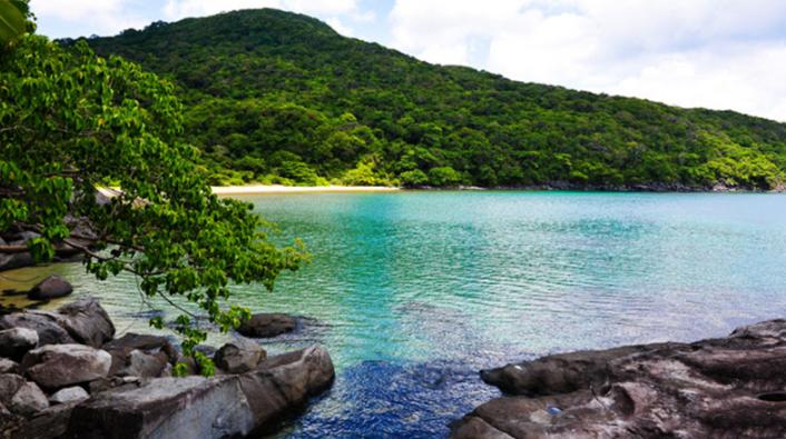 Cảnh sắc thơ mộng của thiên nhiên Côn Đảo