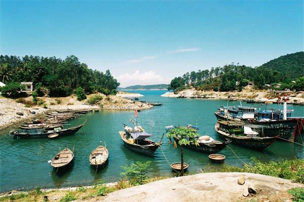 Một góc xinh đẹp của Cù Lao Chàm